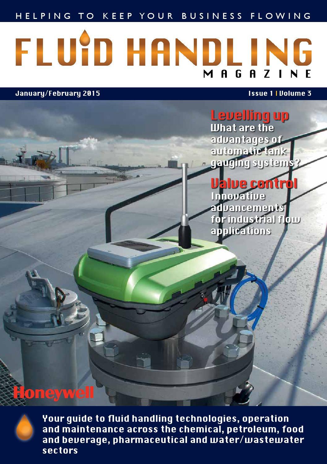 Fluid Handling Magazine January February 2015 By Woodcote Media Ltd Liquid Ring Vacuum Pump Diagram Closed Loop Butane Extraction System Issuu
