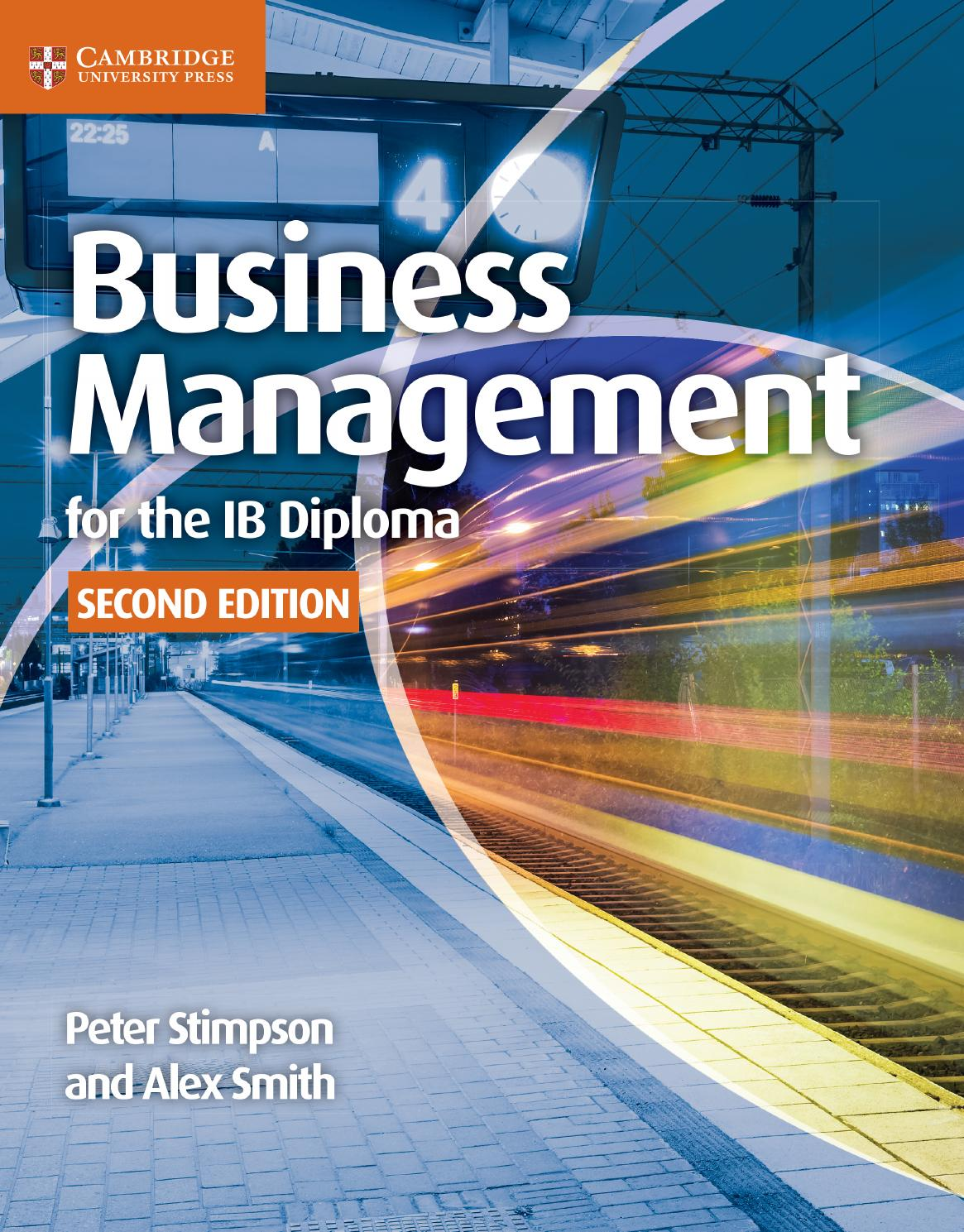 Business Management For The Ib Diploma Second Edition By Cambridge University Press Education Issuu
