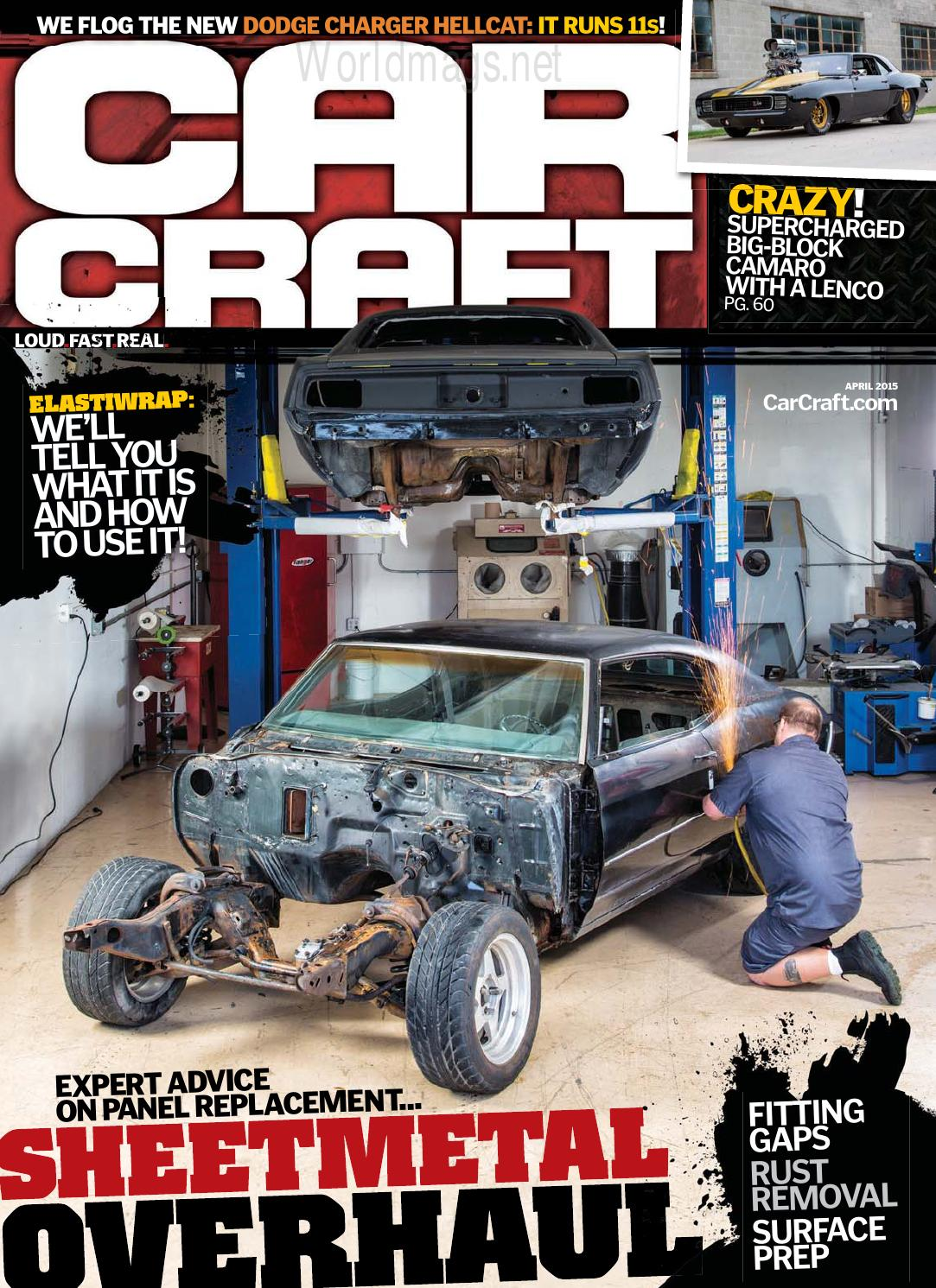 Magzuscom Car Craft April 2015 By Jooldesa Issuu 1949 Styleline Chevy Horn Wiring