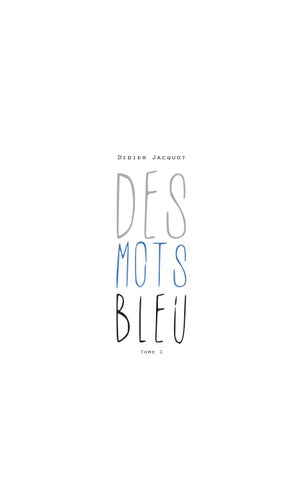 Jacquot mots Des by bleu Didier issuu E9eW2IYDH