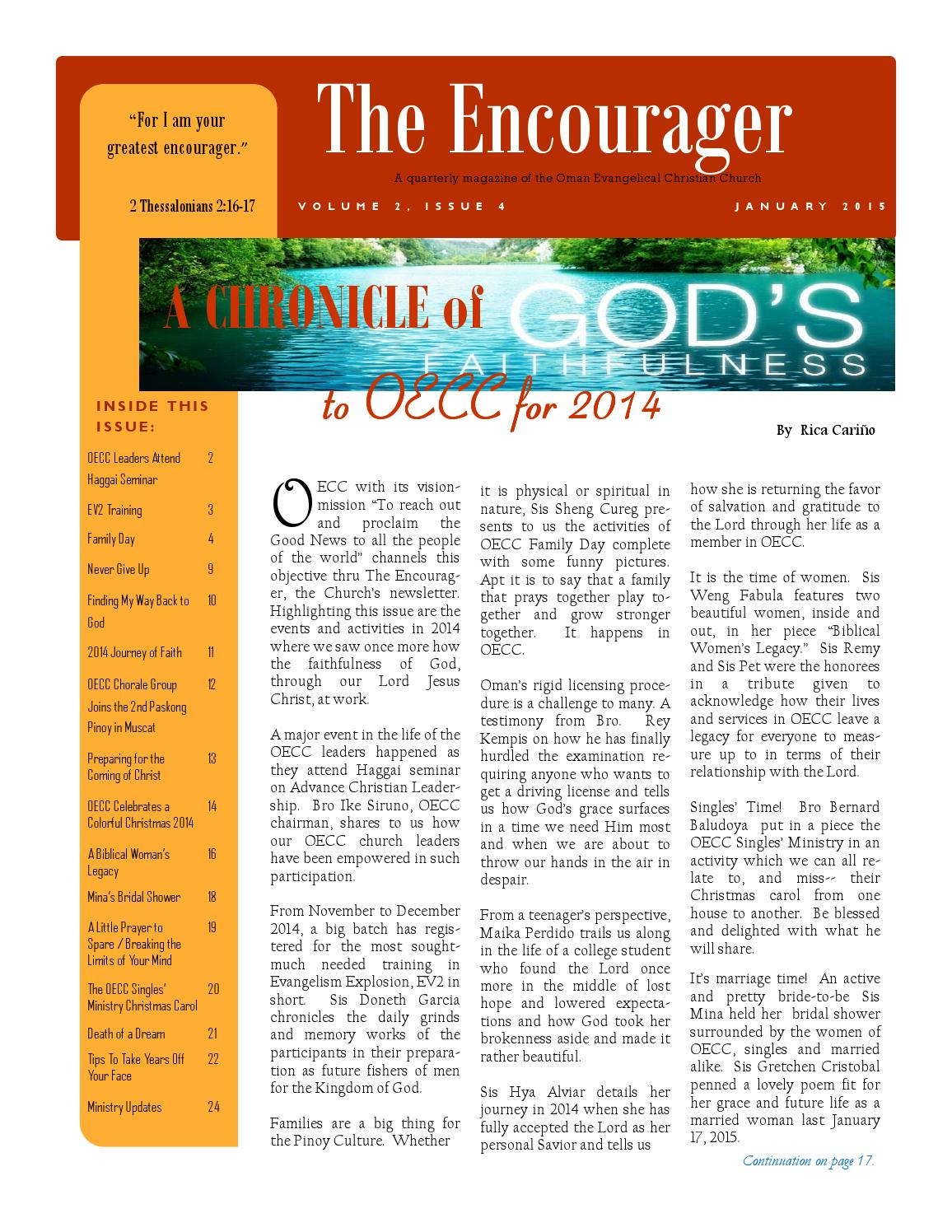 Vol2 Issue4 Jan2015 By Oecc Issuu