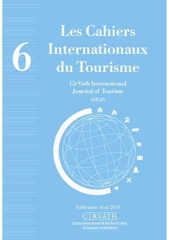 Cirvath International Journal Of Tourism Asean By Vatel Issuu