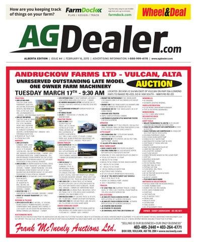 Wheel & Deal Alberta, February 16, 2015 by Farm Business ...