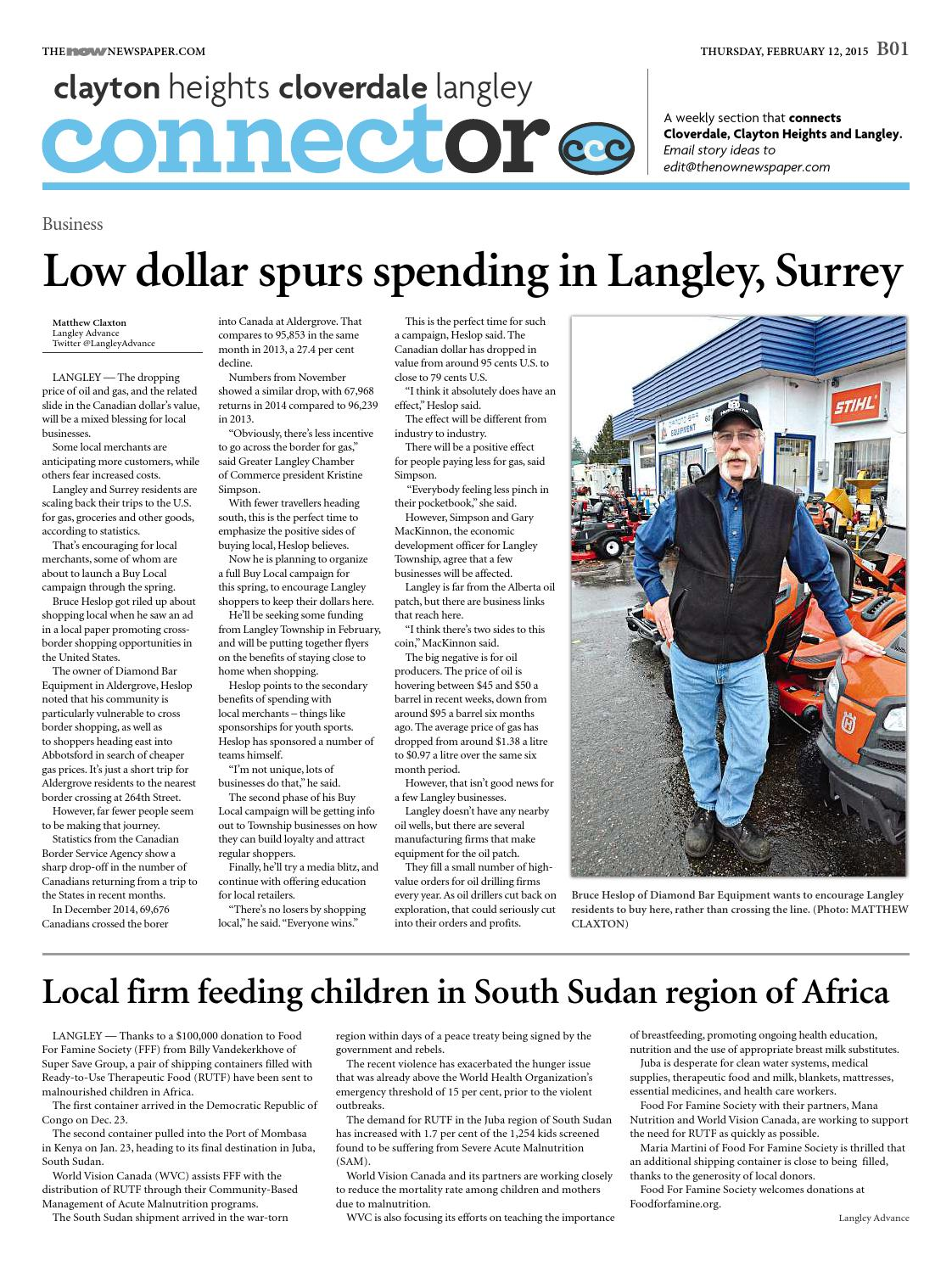 Surrey Now February 12 2015 by Surrey Now - issuu