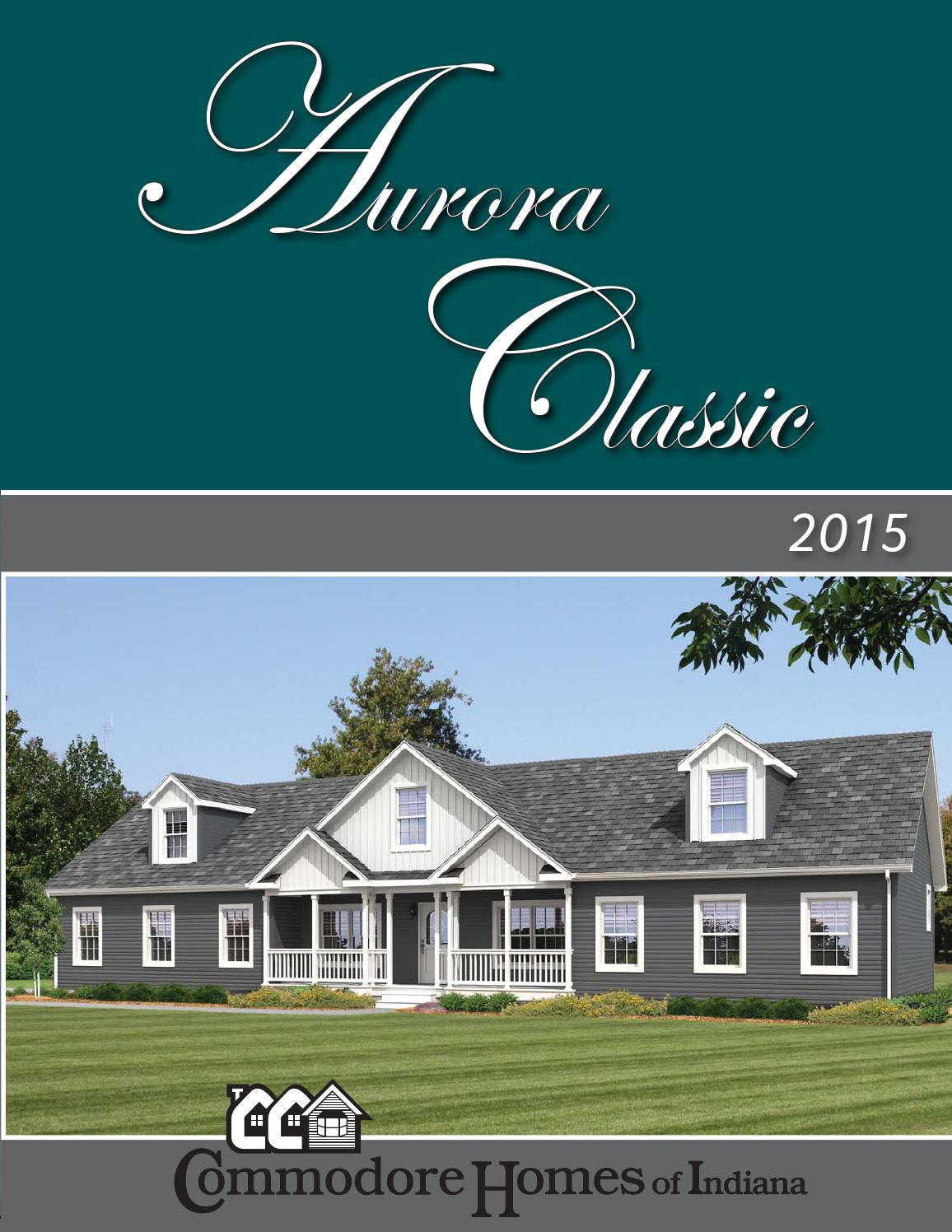 Commodore Homes of Indiana Aurora Classic Seriees 2015 MOD Links by ...