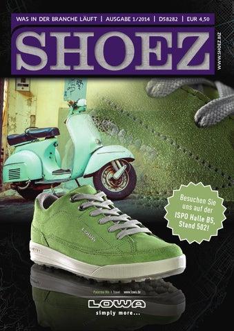 SHOEZ Ausgabe Januar 2014 by SHOEZ – Das Fachmagazin für die