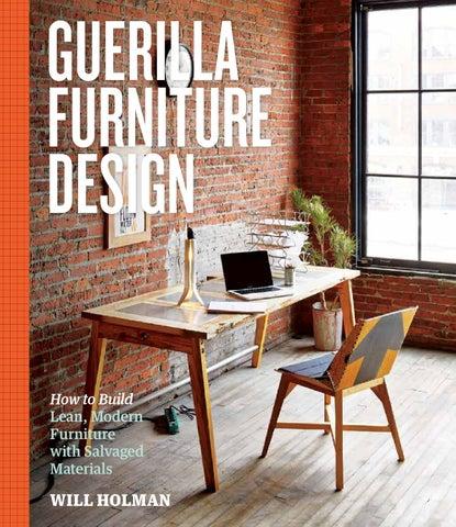 First Look: Guerilla Furniture Design