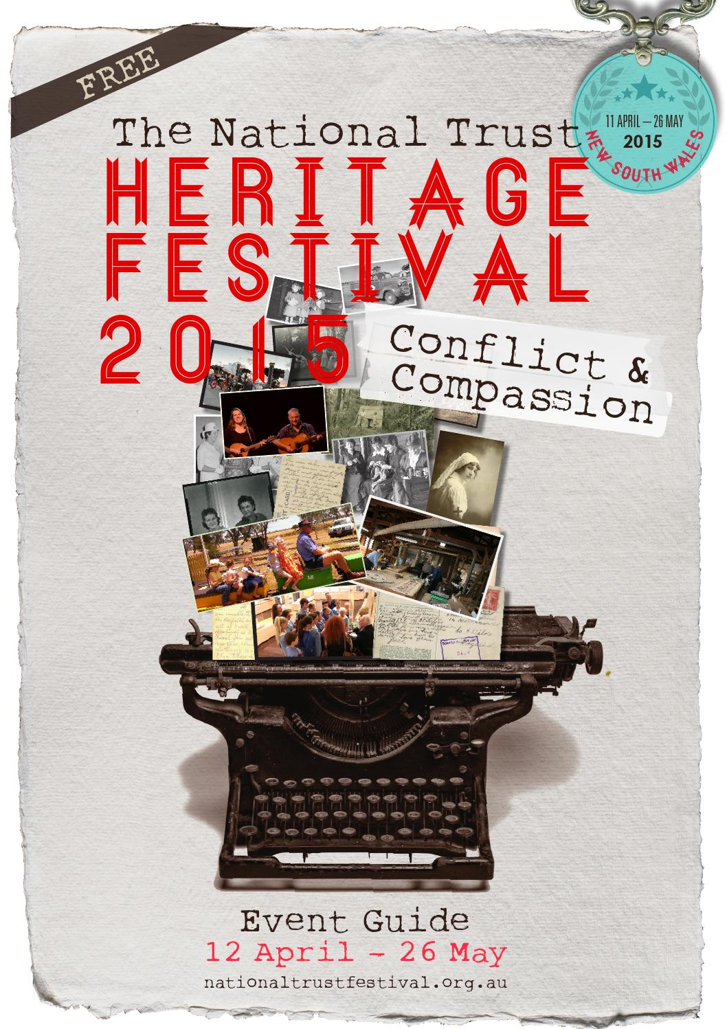 2015 National Trust Heritage Festival (NSW) by National