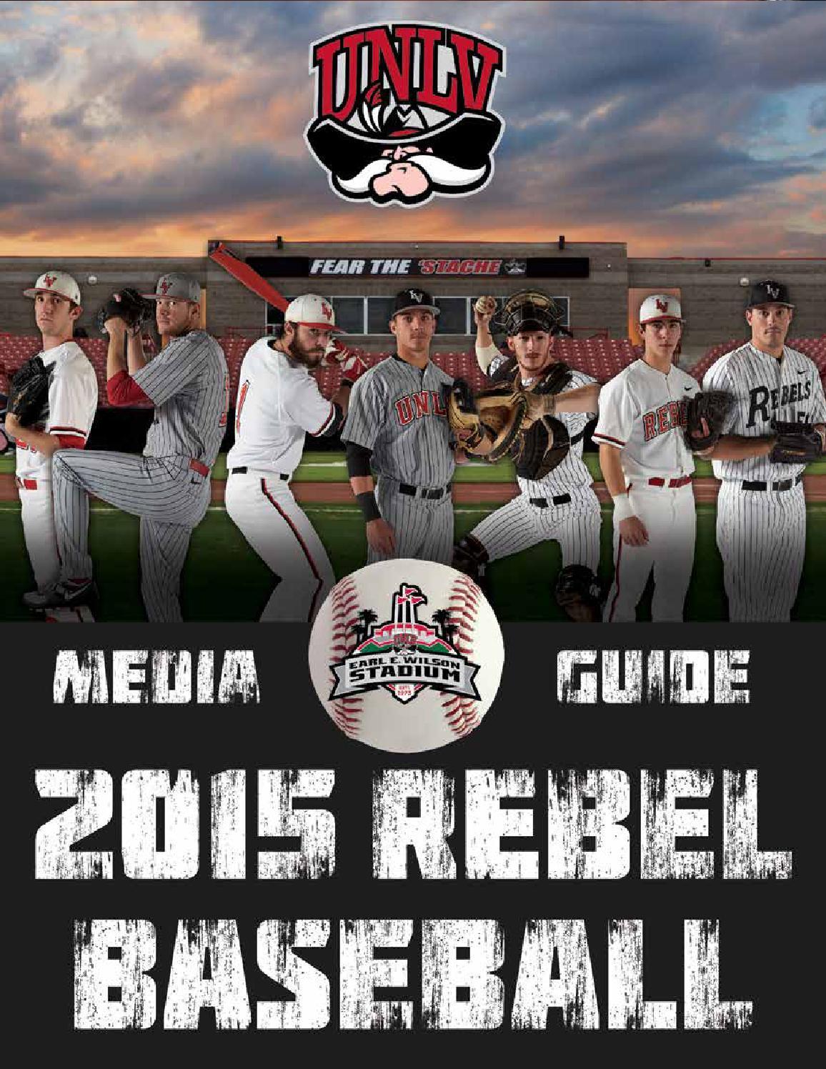0fa7bf3aff7 2015 UNLV Baseball Media Guide by UNLV Sports Information - issuu