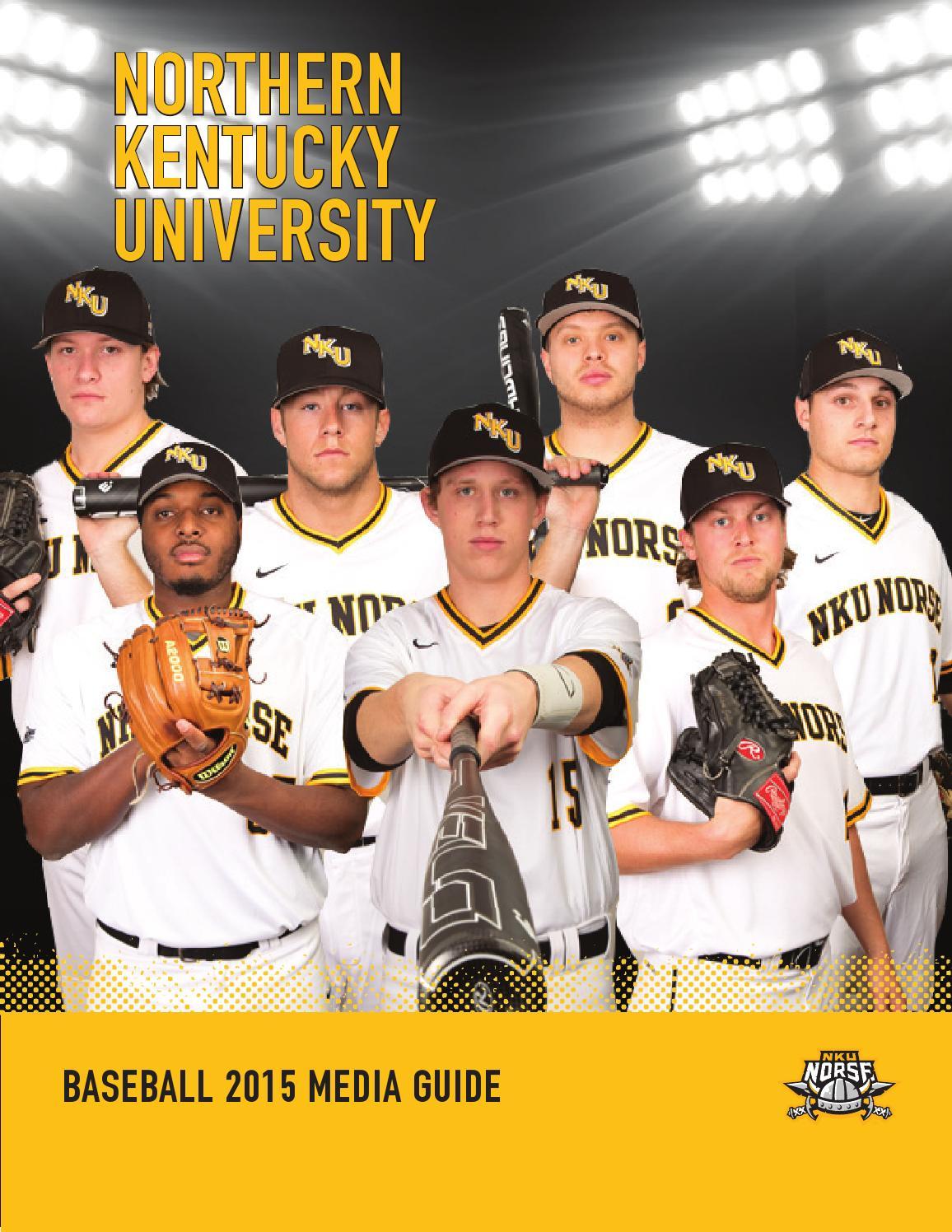 new arrivals 17ff7 e04bd 2015 Northern Kentucky University Baseball Media Guide by ...