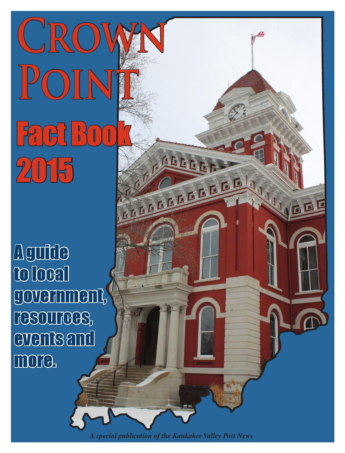 Crown Point Fact Book By Rensselaer Republican Special