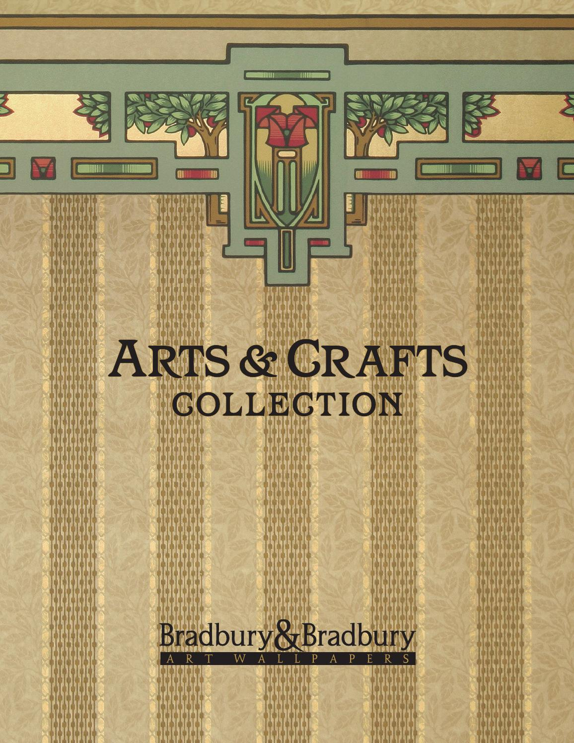 Arts & Crafts Collection By Bradbury & Bradbury Art