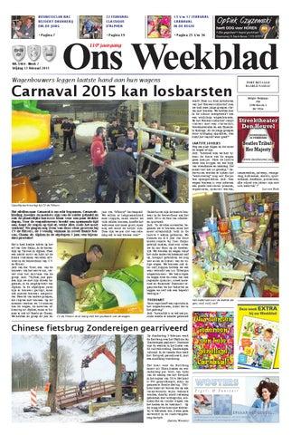 Hangmat Met Standaard Cranenbroek.Ons Weekblad 13 02 2015 By Uitgeverij Em De Jong Issuu