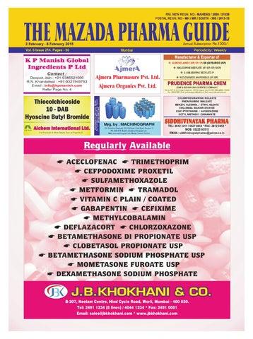 The mazda pharma guide 2 feb 8 feb 2015 by The Mazada Pharma