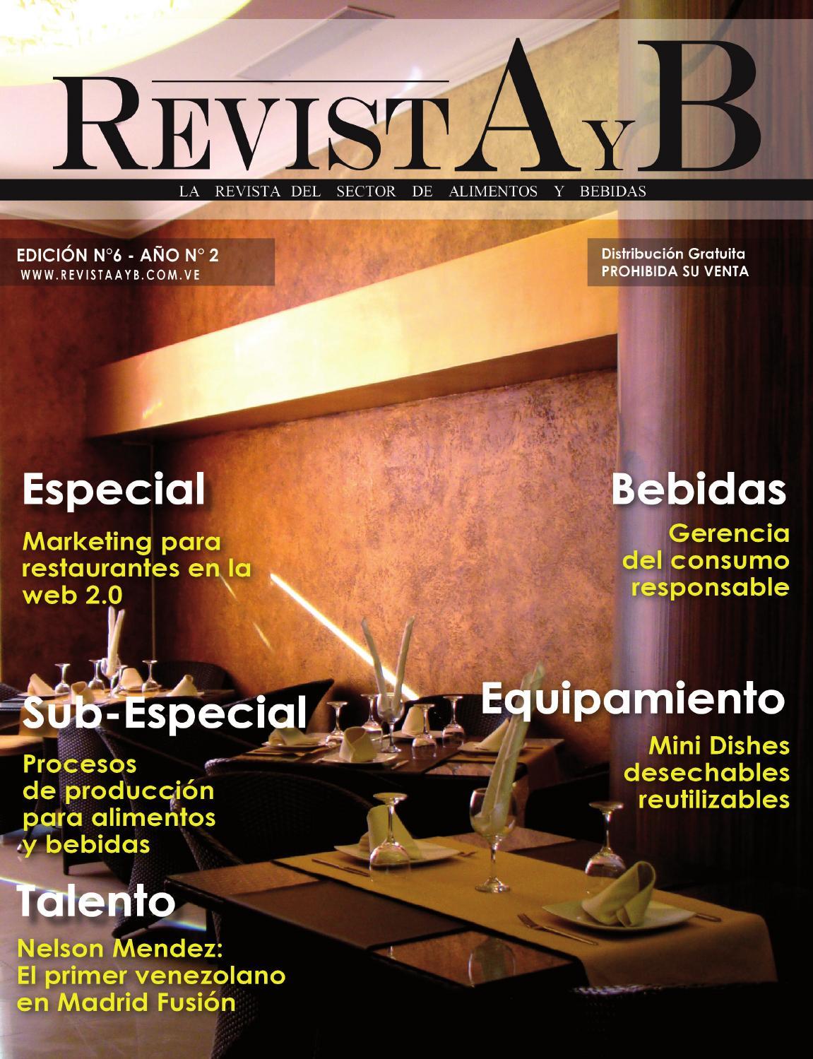 Revista AyB (6ta Edición) by nychdesign - issuu