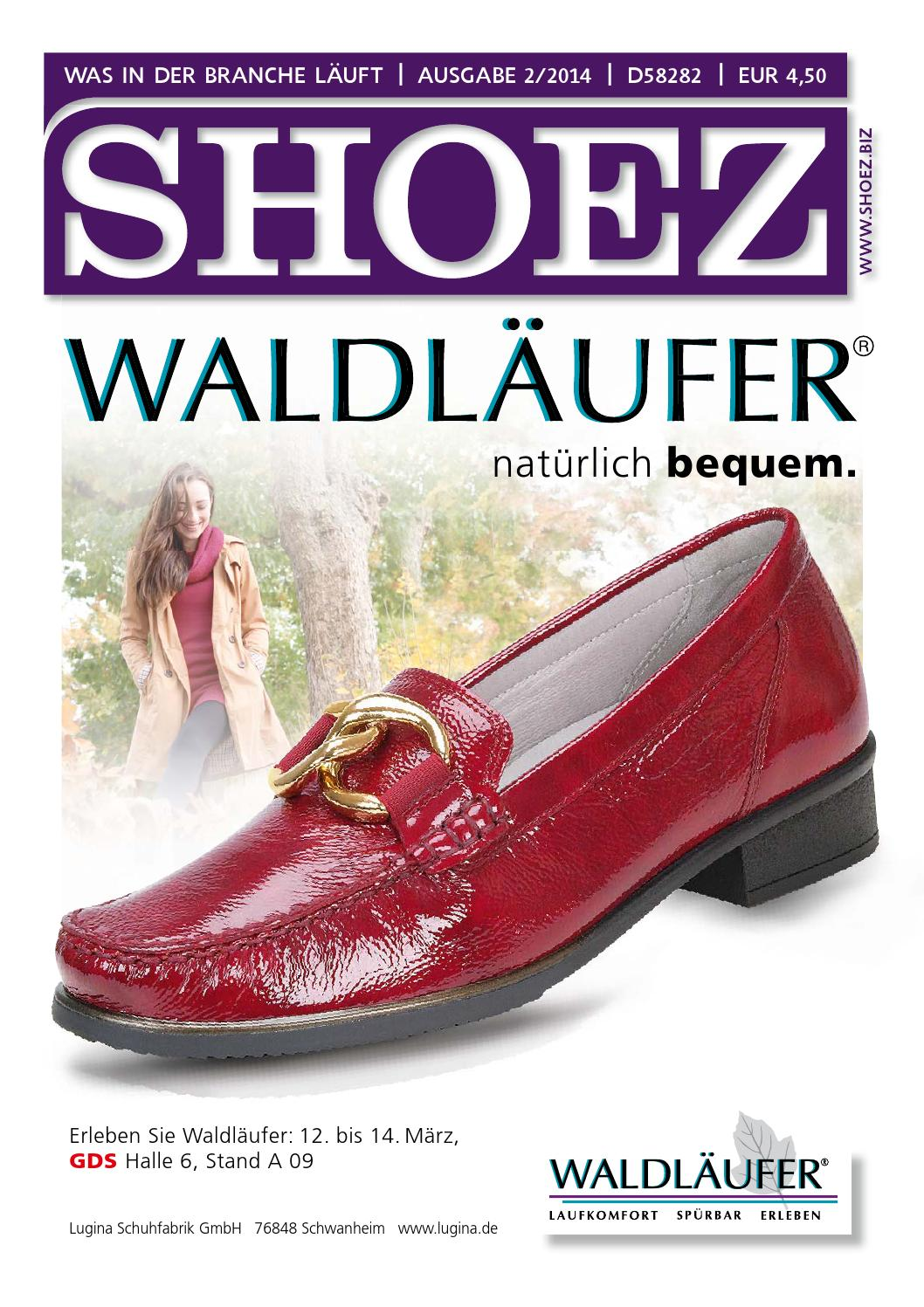 Shoez Ausgabe Februar 2014 by SHOEZ – Das Fachmagazin für