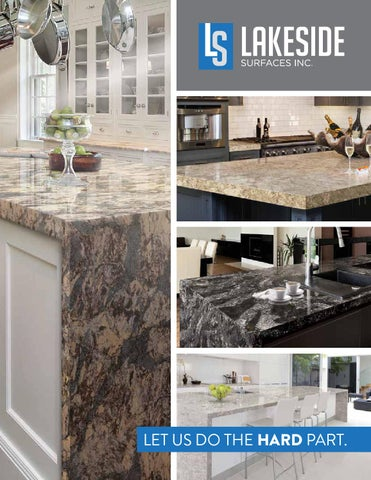 Lakeside Surfaces Inc  2015 Product Catalog by Annie Balavitch - issuu