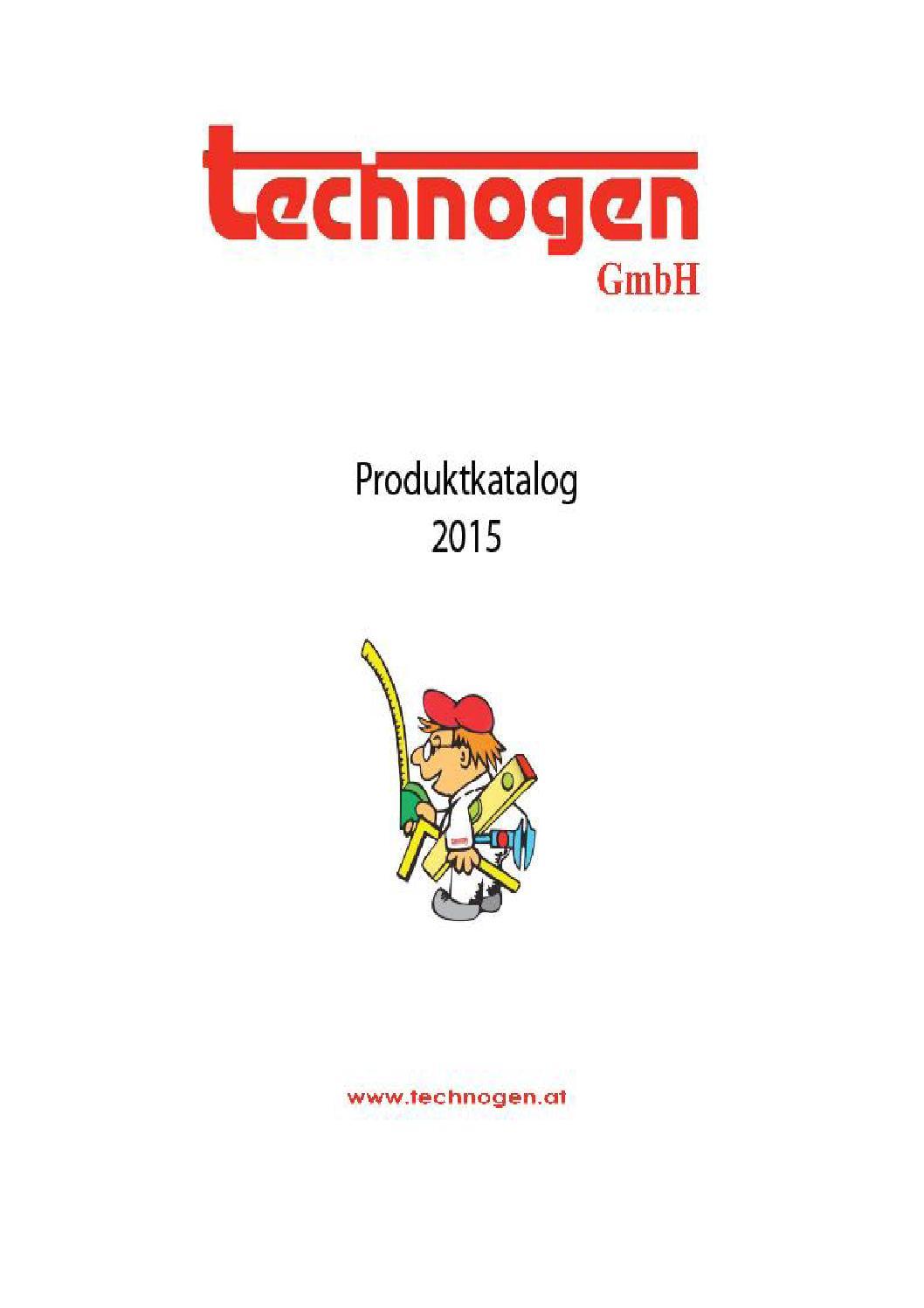 technogen Produktkatalog 2015 by technogen - issuu
