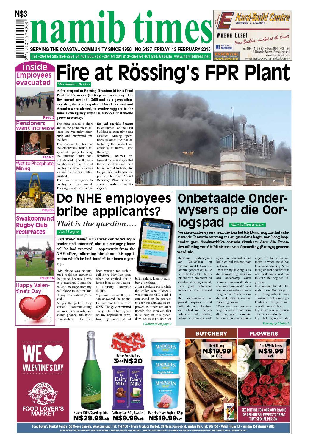 13 feb namib times e edition by Namib Times Virtual - issuu