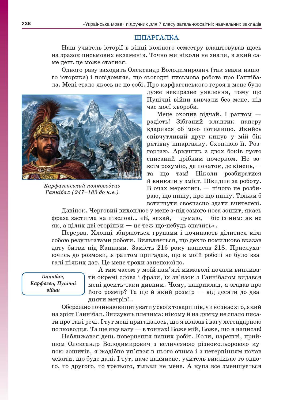 Укр. Мова 7-11 Шпаргалки