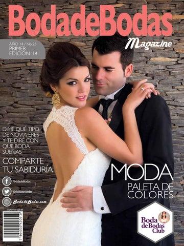 6037cabb9335 BodadeBodas.Magazine No.25 1er. Semestre 2014