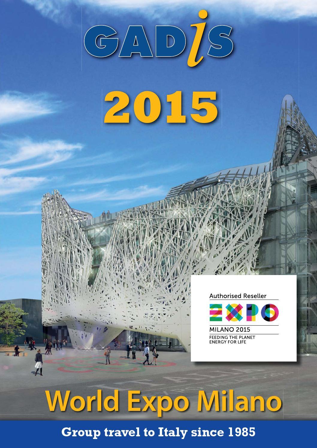 Group Travel To Italy Catalogue 2015 By Gadis Tourist Service Italia Srl Issuu