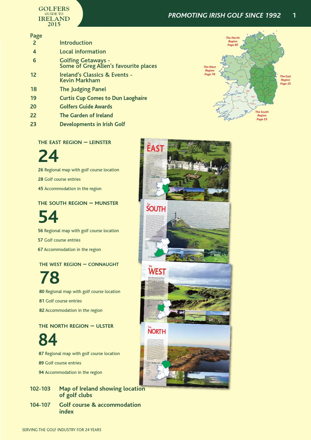 Golfers guide to ireland 2015 by 010108 issuu malvernweather Images