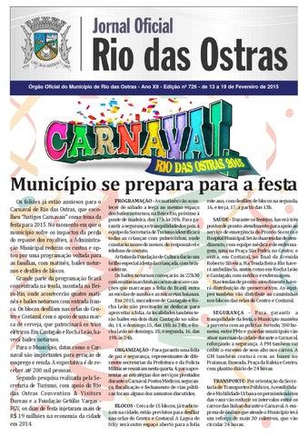 31c947043e Edição nº 726 by Rio Das Ostras Jornal - issuu