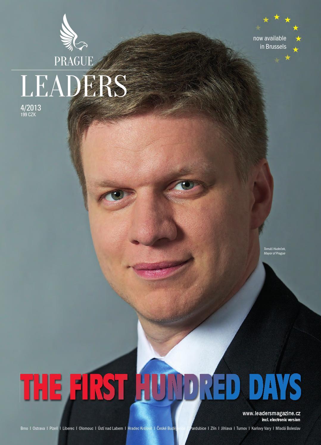Prague Leaders Magazine Issue 04 2013 By Czech & Slovak Leaders Issuu