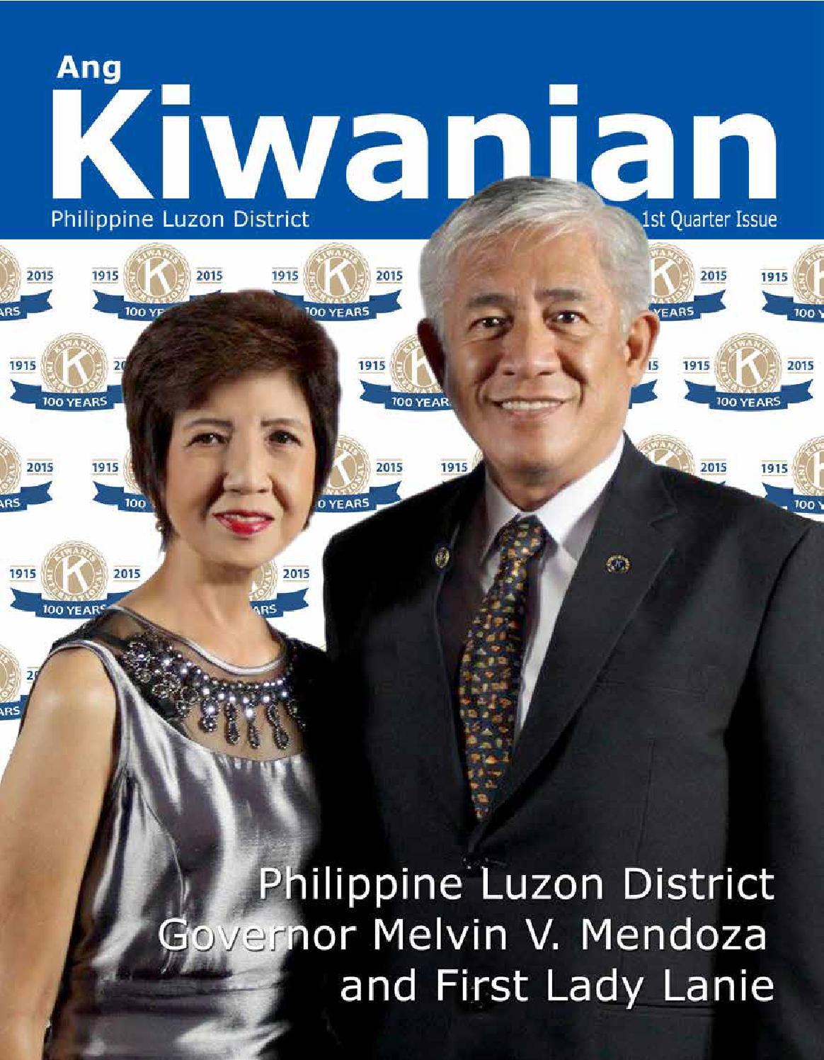 Ang kiwanian First Issue