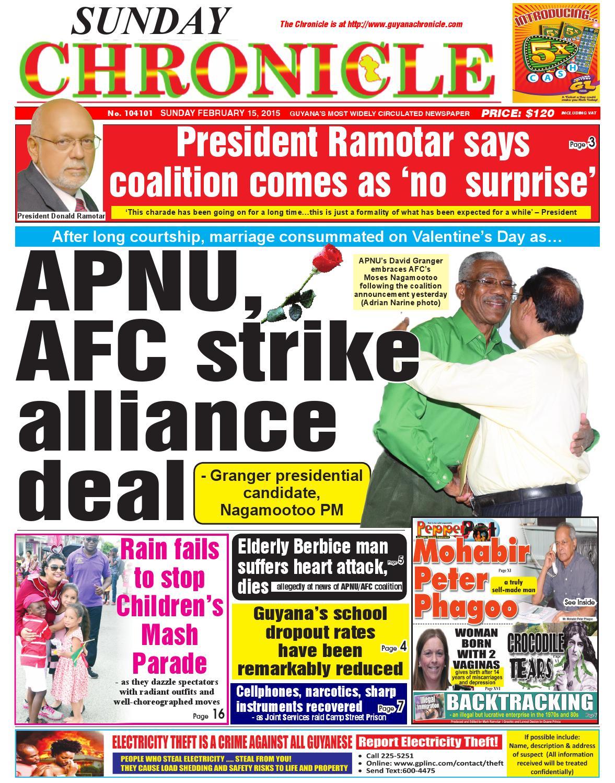 Guyana chronicle 15 02 15 by Guyana Chronicle E-Paper - issuu
