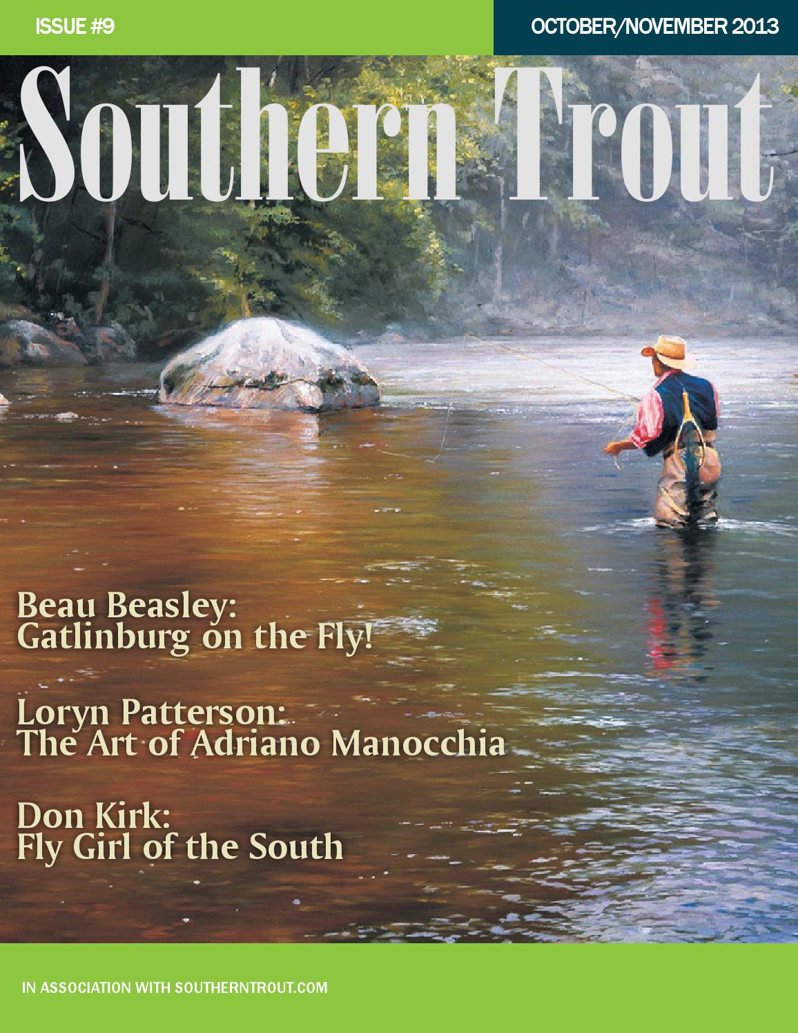 0d17b5cb3f0d1 Southern Trout Magazine Issue 9 by Southern Unlimited