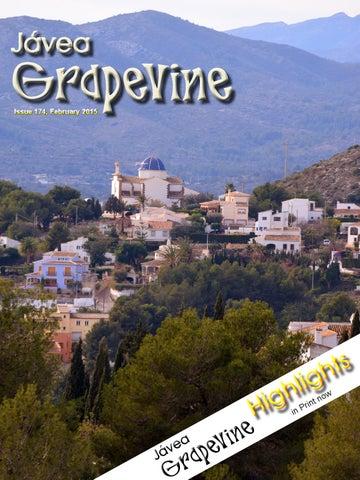 Calendario Laboral Javea 2020.Javea Grapevine Issue 174 2015 By Marina Alta Business Club Issuu