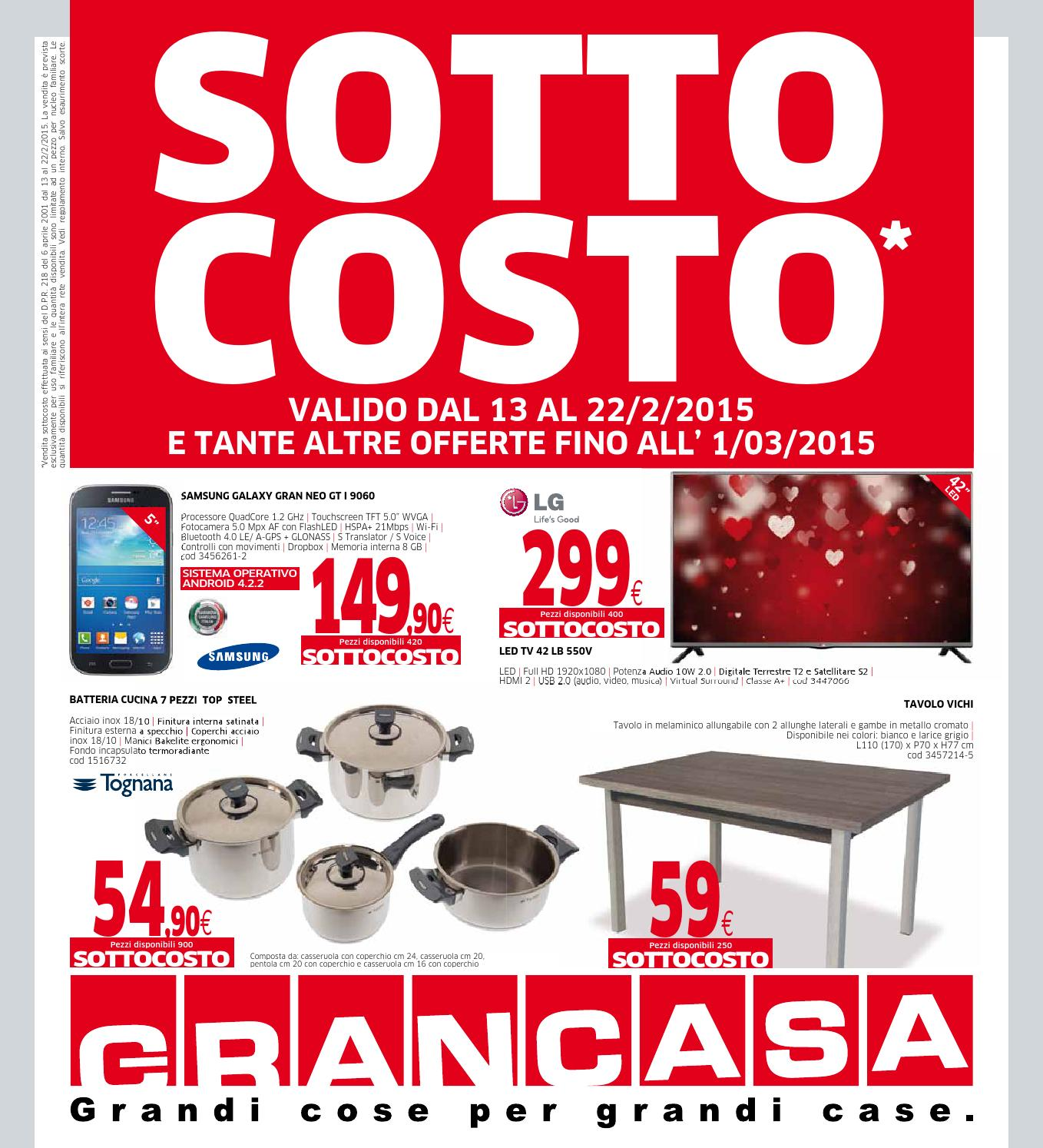 Grancasa 22feb by volavolantino issuu - Grancasa catalogo ...