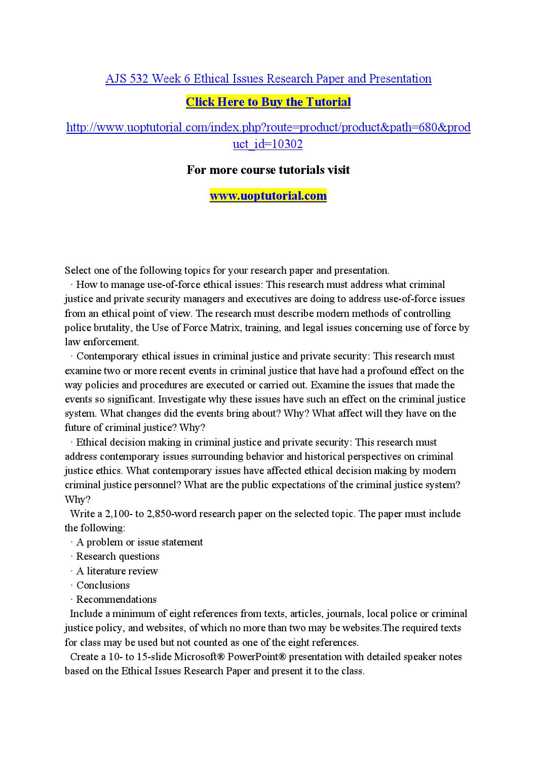 Format for research paper proposal