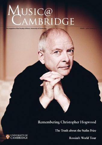 Music@ Cambridge Issue 1 2015 By Matt Bilton   Issuu