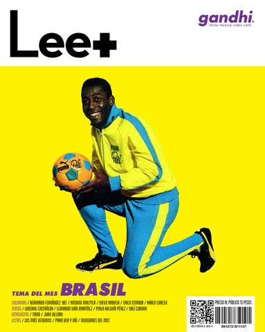 8016e86ac9c88 61 Brasil by Revista Lee+ de Librerías Gandhi - issuu