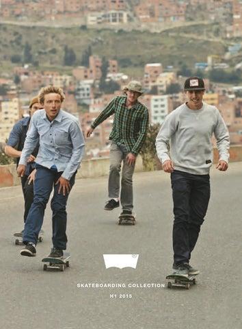 3fd6ac55 Katalog Levis Skateboarding Collection 2015 www.roooolki.com by PPHU ...