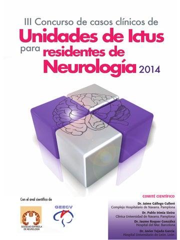 III Concurso de casos clínicos de Unidades de Ictus para residentes ...