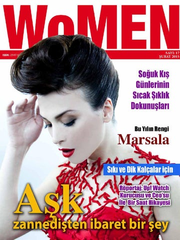 cd14b7d52cb83 WoMEN Dergisi Şubat 2015 by Women Dergisi - issuu