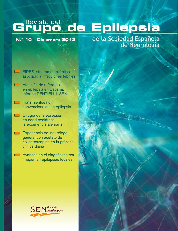 Revista Grupo de Epilepsia SEN, nº 10 by Epilepsiasen Epilepsiasen ...
