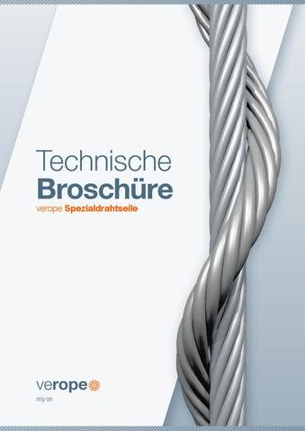 verope Technische Broschüre – Deutsch by verope AG - issuu