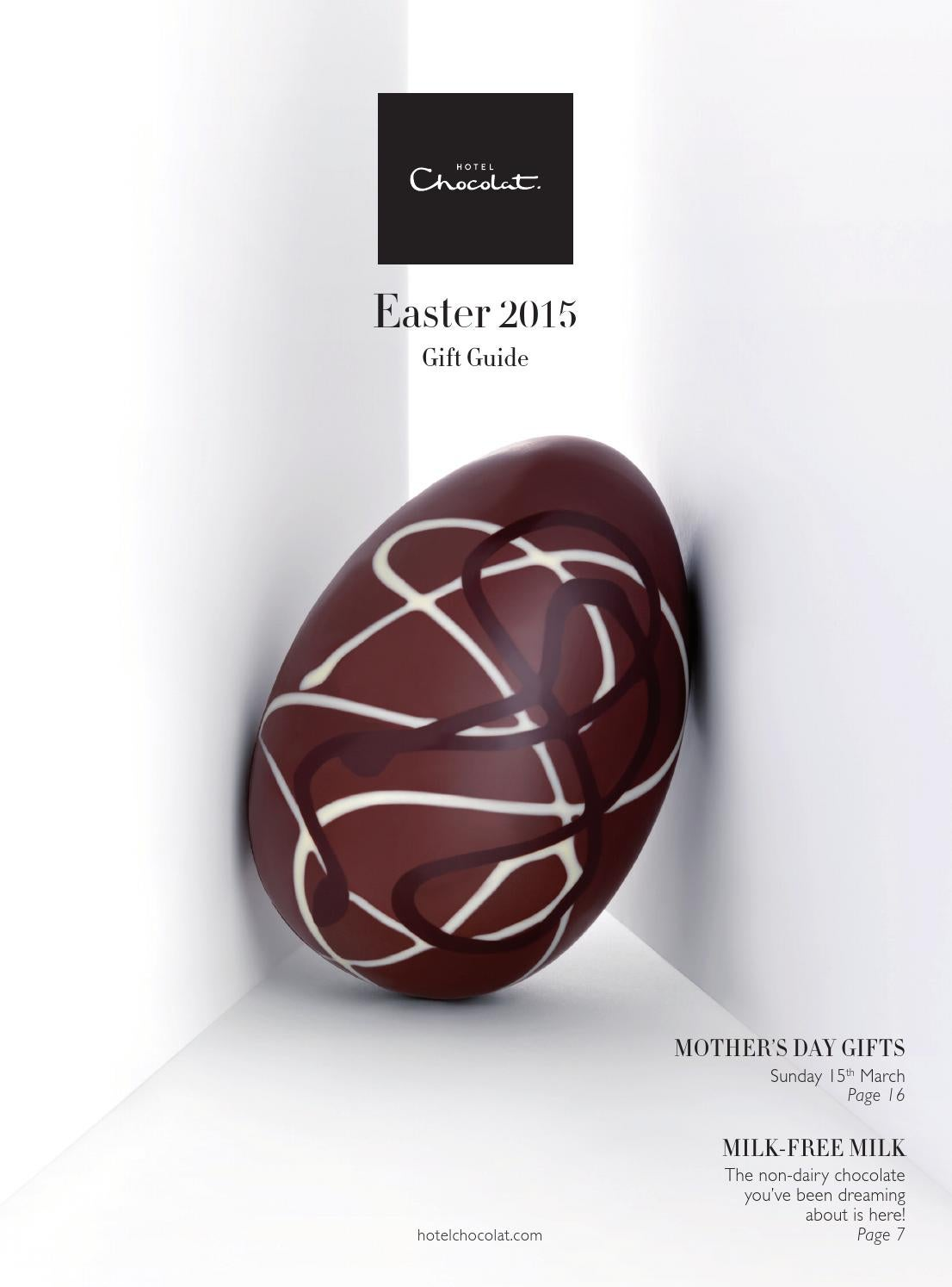 Hotel chocolat easter 2015 gift guide by hotel chocolat issuu negle Gallery