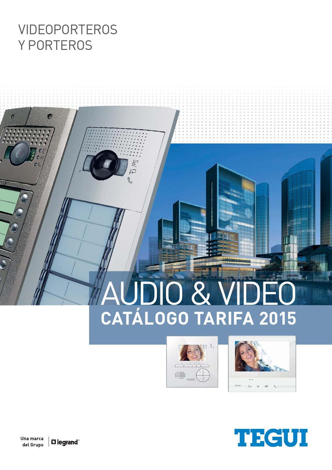 Catalogo Videoporteros Porteros Tegui 2015 By Alejandro
