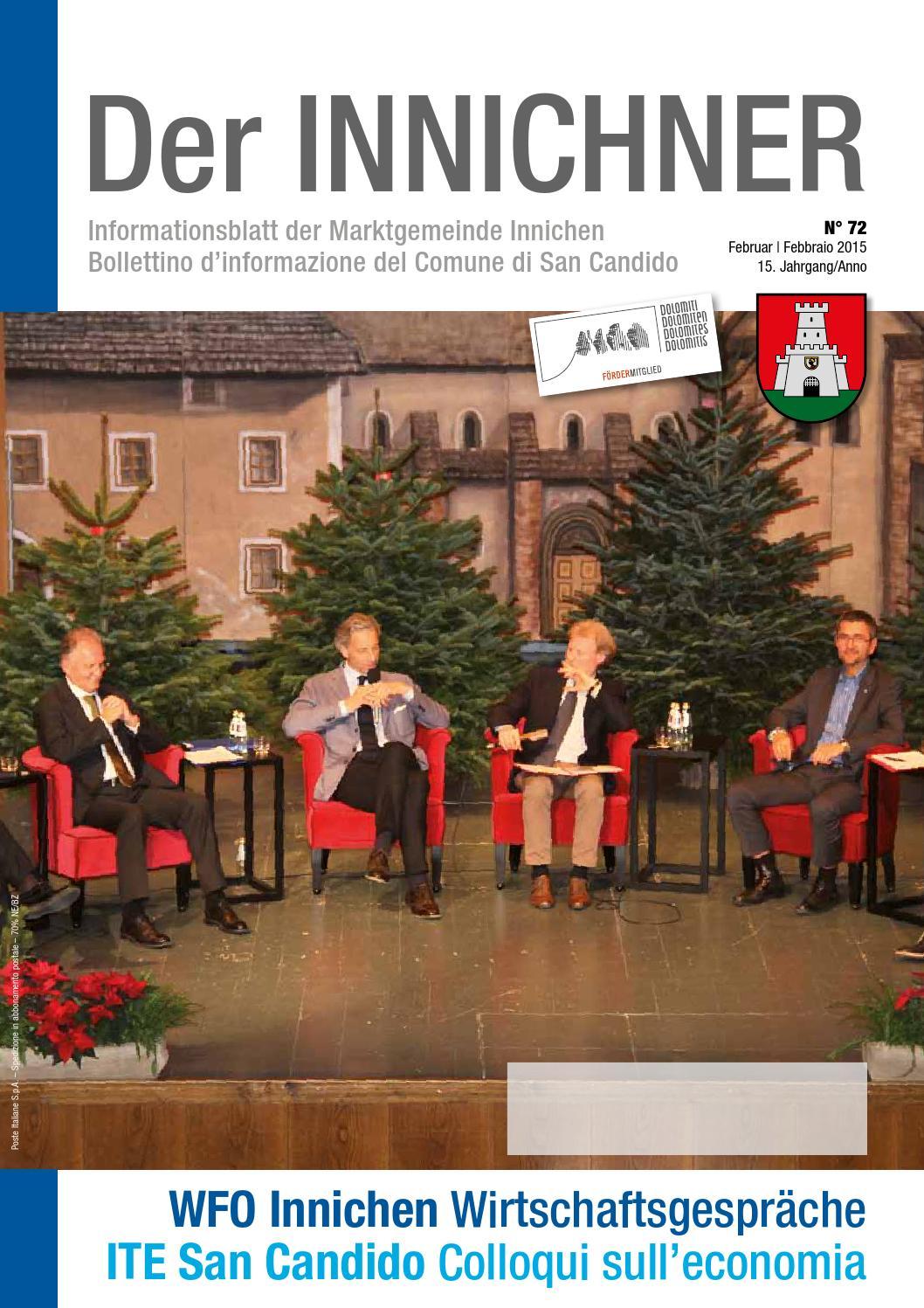 Nr./n. 72 2015 Der Innichner by Gemeinde Innichen - issuu