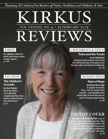 February 15 2015 Volume Lxxxiii No 4 By Kirkus Reviews Issuu