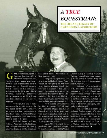 Page 9 of A True Equestrian: The Life and Legacy of Gwendolin E. Stableford