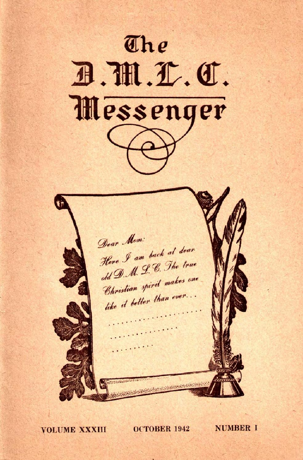1942 1943 Dmlc Messenger Vol 33 By Martin Luther College Issuu