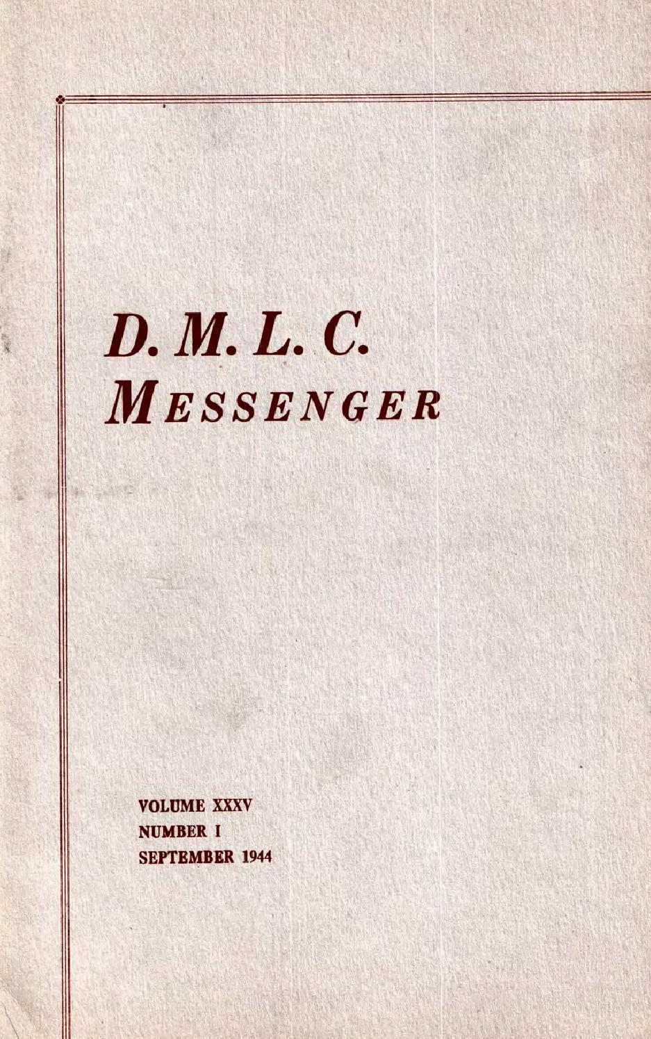 1944 1945 Dmlc Messenger Vol 35 By Martin Luther College Issuu Guten Inc Dyer Green White Shirt