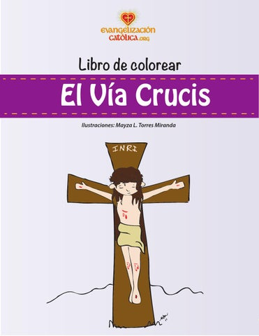 Libro De Pintar Via Crucis By Enredadioscyc Issuu